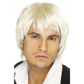 Boy band paryk blonde