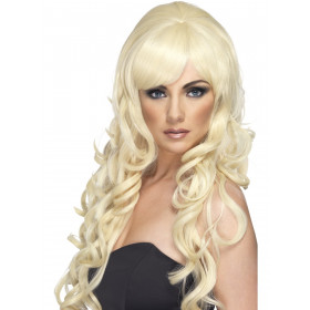 Pop starlet paryk Blond