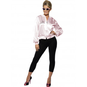 Pink lady jakke - Grease kostume