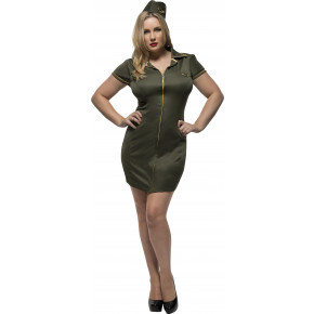 Plussize Army Babe