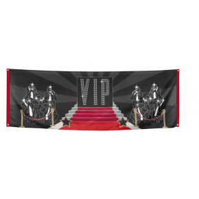 VIP Banderoll - Hollywood dekoration