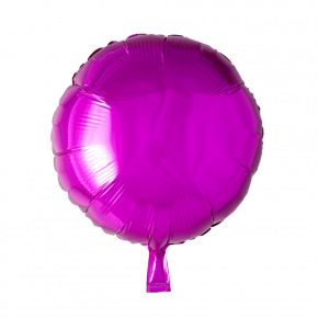 Hot Pink Rund Folie Ballon