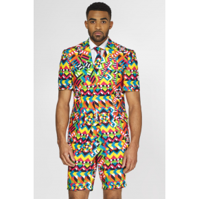 Abstractive Summer Opposuit