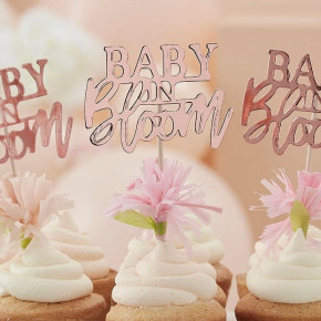 Baby in Bloom Kagetoppers, 12 stk.