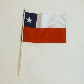Chile flag på pind