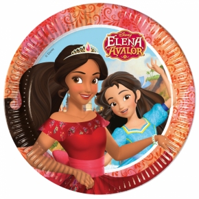 Elena of Avalor Paptallerkner, 23 cm