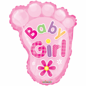 Folie Ballon - Baby Girl Fod