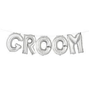 'GROOM' Ballon Kit
