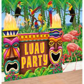 Hawaii dekoration: Luau