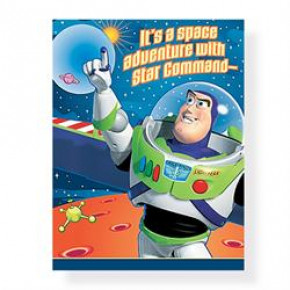 Buzz Lightyear invitationer