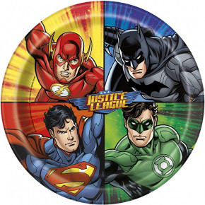 Justice League Paptallerkner, 21.9