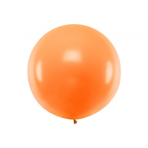 Pastel Orange Kæmpe Ballon
