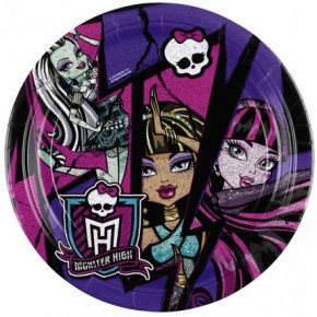 Monster high kagetallerkner
