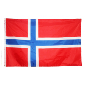 Norsk flag 90 X 150cm