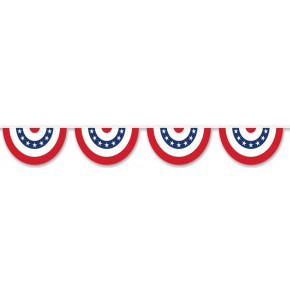 US bunting banner