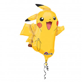 Supershape Pikachu Pokémon Folie Ballon