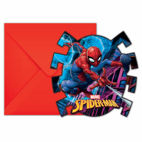 Spider-Man Invitationer