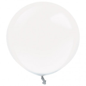 Crystal Stuffing Ballon m/Stor Hals, Latex Ballon 18''