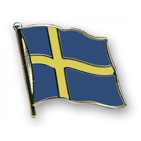 Svensk Flag Pin 2mm