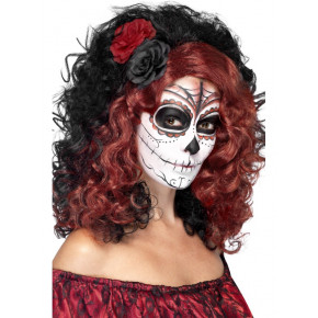 To-farvet Day of the Dead Paryk
